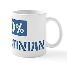 50 Percent Palestinian Mug