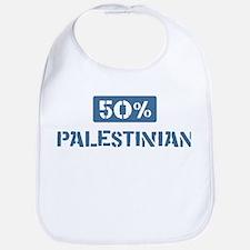 50 Percent Palestinian Bib