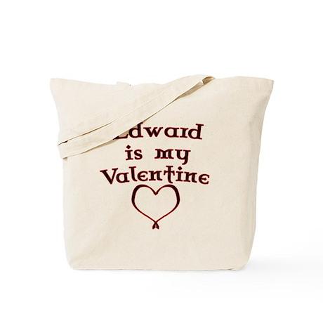 Twilight Edward Valentine Tote Bag