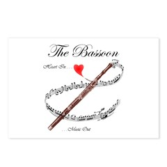 The Bassoon Postcards (Package of 8)