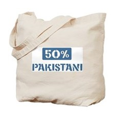 50 Percent Pakistani Tote Bag