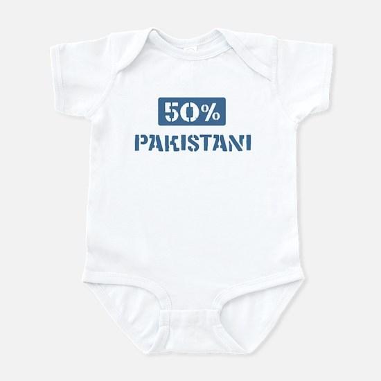 50 Percent Pakistani Infant Bodysuit