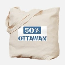 50 Percent Ottawan Tote Bag
