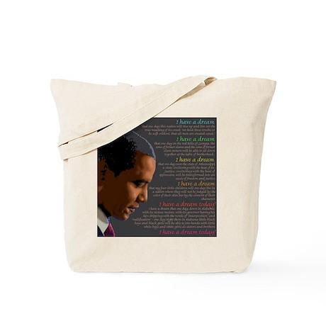 Obama / I Have a Dream Tote Bag