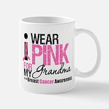 I Wear Pinnk For My Grandma Mug
