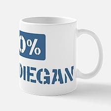50 Percent San Diegan Mug