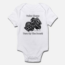 Talks Cheap - Turn Up The Boost - Infant Bodysuit