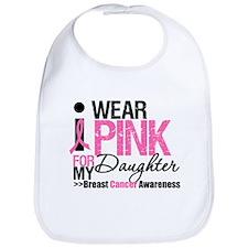 I Wear Pink For Daughter Bib