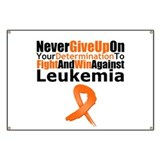 Fight leukemia Banners