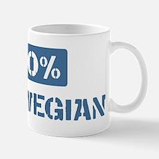 50 Percent Norwegian Mug