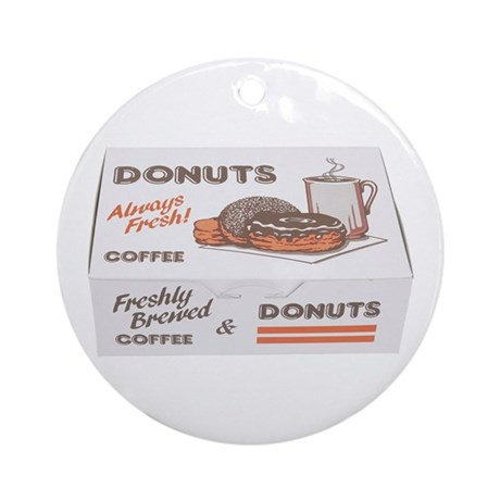 Some Donuts On Your Ornament (Round)