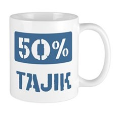 50 Percent Tajik Mug