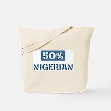50 Percent Nigerian Tote Bag