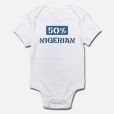 50 Percent Nigerian Infant Bodysuit