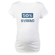 50 Percent Syriac Shirt