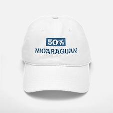 50 Percent Nicaraguan Baseball Baseball Cap