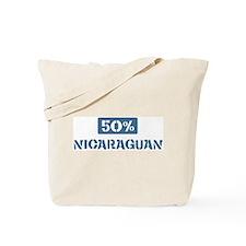 50 Percent Nicaraguan Tote Bag