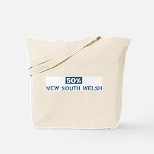 50 Percent NewSouthWelsh Tote Bag