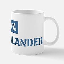 50 Percent New Zealander Mug
