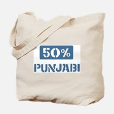 50 Percent Punjabi Tote Bag