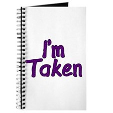 I'm Taken Journal