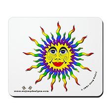 Rainbow Sun - Mousepad