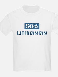 50 Percent Lithuanian T-Shirt