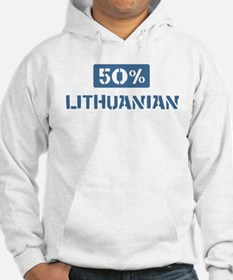 50 Percent Lithuanian Hoodie