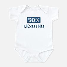 50 Percent Lesotho Infant Bodysuit
