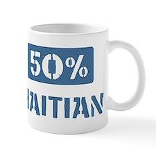 50 Percent Haitian Mug