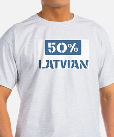 50 Percent Latvian T-Shirt