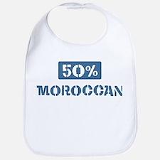 50 Percent Moroccan Bib