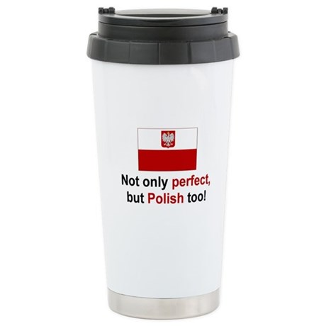Perfect Polish Stainless Steel Travel Mug