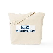 50 Percent Micronesian Tote Bag