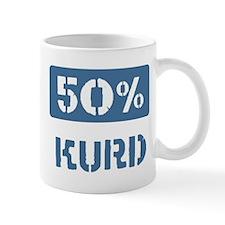 50 Percent Kurd Small Mug