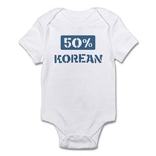 50 Percent Korean Infant Bodysuit