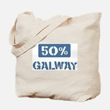 50 Percent Galway Tote Bag