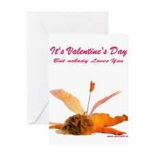 Cool Avclove Greeting Card