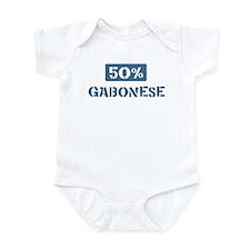 50 Percent Gabonese Infant Bodysuit