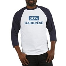 50 Percent Gabonese Baseball Jersey