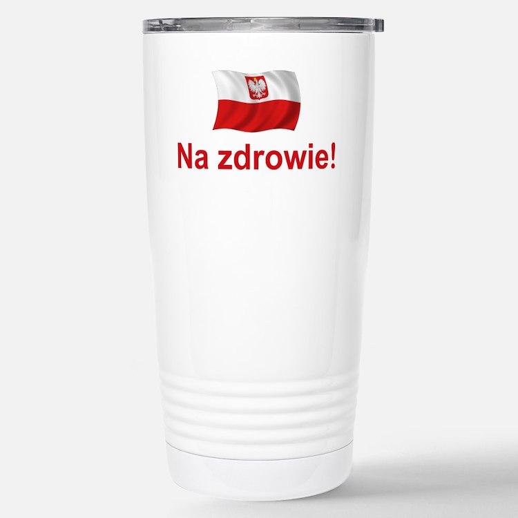 Polish Na zdrowie Travel Mug
