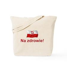 Polish Na zdrowie Tote Bag
