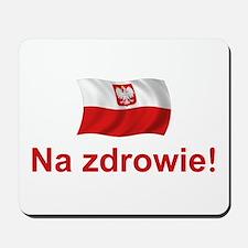 Polish Na zdrowie Mousepad
