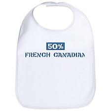 50 Percent French Canadian Bib