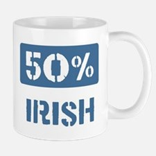 50 Percent Irish Mug