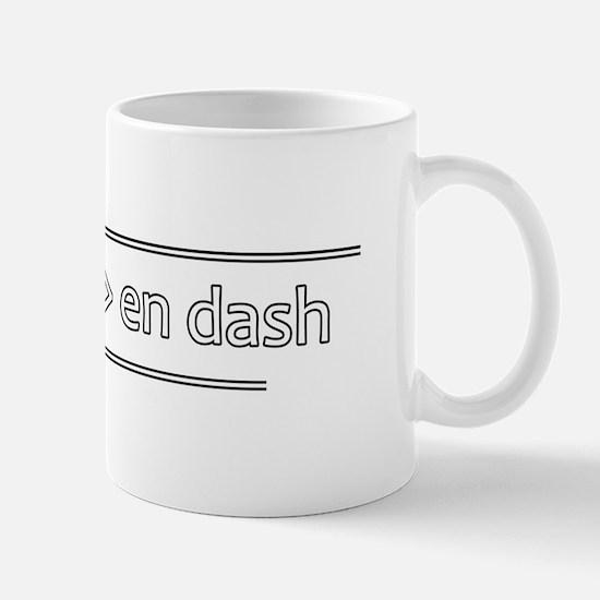Punctuation Geek - Mug