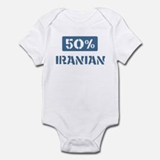 50 Percent Iranian Infant Bodysuit