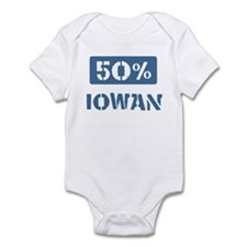 50 Percent Iowan Onesie