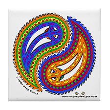Paisley - Tile Coaster