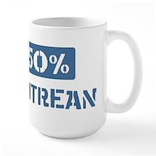 50 Percent Eritrean Mug